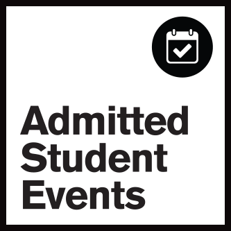 admitted student events